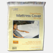 003. Fitted Plastic Mattress Cover
