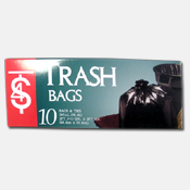 003. Trash Bags - 26 gallon
