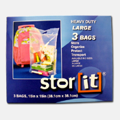 005. 3pk Large Storage Bags w/ Handle
