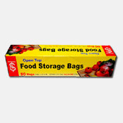 013. Open Top Food Storage Bags - 50 count