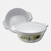 042. Melamine Serving Bowl