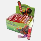 058. Fruity Lip Gloss Roll-On w/ Display