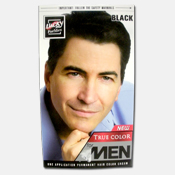 072. Lucky Hair Color Men - Black