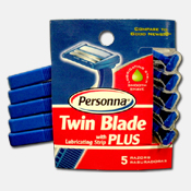 200. Men's Twin Blade Razors - 5pk