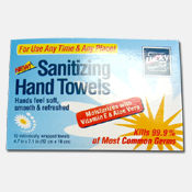 209. Lucky Sanitizing Hand Towels - 12 count