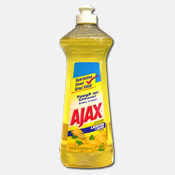 001. Ajax 14 oz. Dish Soap - Lemon