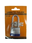 266. 30mm Long Shank Brass Padlock