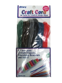 767. Craft Cords-Dark Colors