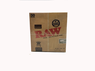 800. Raw Classic Kingsize Slim 50 ct.