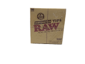 808. Raw Perforated Wide Tips 50ct.
