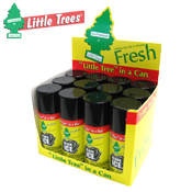 048. Little Tree Auto Freshener Spray - Black Ice