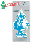 051. Little Trees Handi Strip Air Freshener - White Water