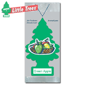 057. Little Trees Handi Strip Air Freshener - Green Apple