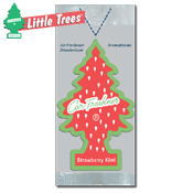 061. Little Trees Handi Strip Air Freshener - Strawberry Kiwi