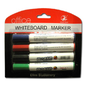013. Dry Eraser Markers - 4pc