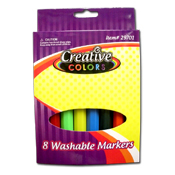 020. Washable Markers - 8pc