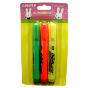 021. Neon Highlighters - 3pc