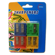 035. Pencil Sharpeners - 4pc