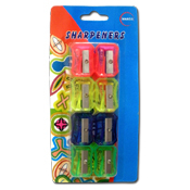 037. Pencil Sharpeners - 8pc
