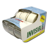 046. Invisible Tape - 3pk