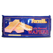 028. Forrelli Vanilla Wafers - 10.5 oz.