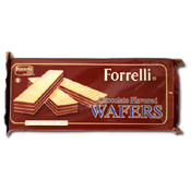 029. Forrelli Chocolate Wafers - 10.5 oz.