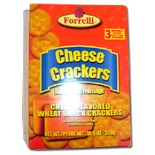 032. Forrelli Cheese Crackers - 10.5 oz.
