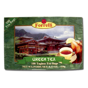 048. Forrelli Green Tea Bags - 100 count