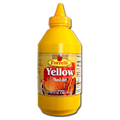 056. Forrelli Yellow Mustard - 20 oz.