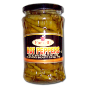 064. Forrelli Hot Peppers - 12 oz.
