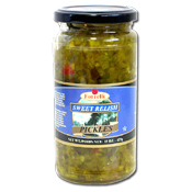066. Forrelli Sweet Relish - 15 oz.