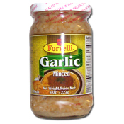 069. Forrelli Minced Garlic - 8 oz.