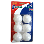 013. Table Tennis Balls - 6pk