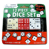 016. Dice Set - 12pc