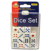 017. Dice Set - 15pc