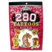 026. Temporary Tattoo Booklet - 280 count