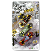 045. Finger Skate Boards - 3pk