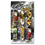 046. Finger skate Boards - 6pk