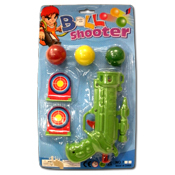 047. Ball Shooter Gun w/ Targets