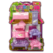 061. Toy Furniture Playset