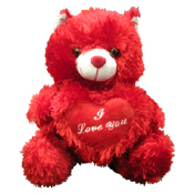 010. Small Plush Valentine's Day Bear