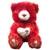 011. Large Plush Valentine's Day Bear