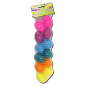 024. Small Plastic Easter Eggs - 12 count
