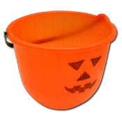 031. Halloween Pumpkin Candy Bucket