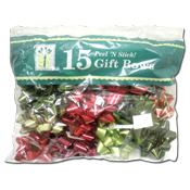 040. Gift Bows - 15 count