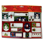 048. Christmas Gift Tags - 16pc.