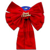 061. Extra Long Christmas Bow